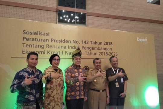 Galakkan ekonomi kreatif, Gubernur akan bangun Riau Creative Hub