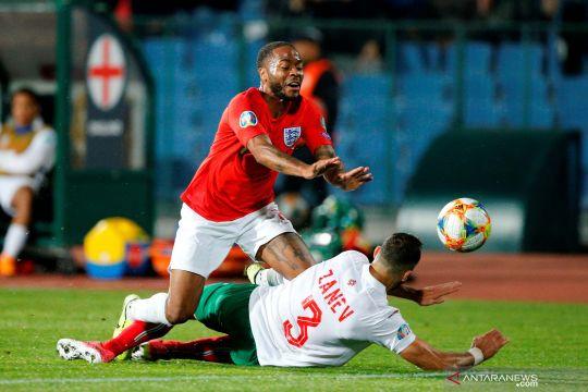 Kualifikasi Piala Eropa 2020 - Inggris pesta gol ke gawang Bulgaria