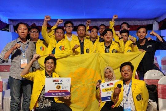 Tim AMV UI raih juara kontes kapal cepat tak berawak