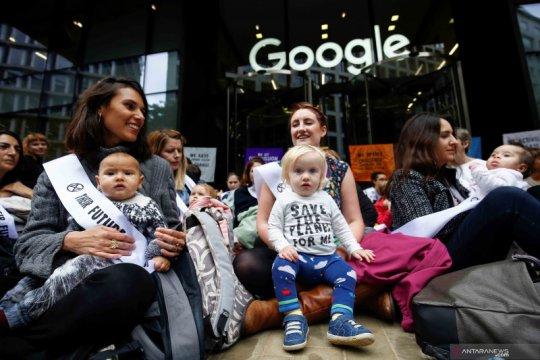 Ketika bayi dan balita ikut protes soal perubahan iklim