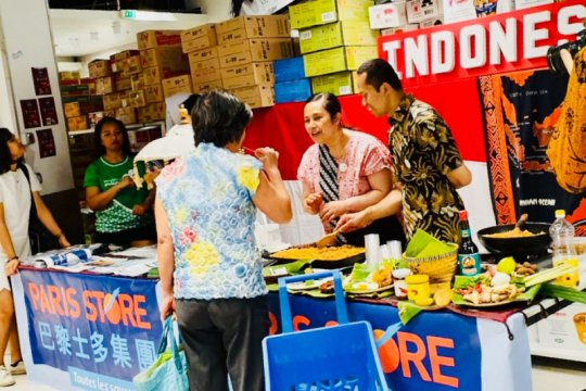 Lewat gastronomi, KJRI Marseille promosikan Indonesia di Paris Store