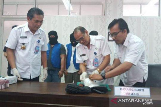 BNNP Kalteng tangkap  pembawa 400 gram sabu yang dikendalikan Lapas