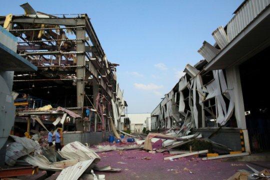 Ledakan pipa gas di China tengah telan 12 korban jiwa