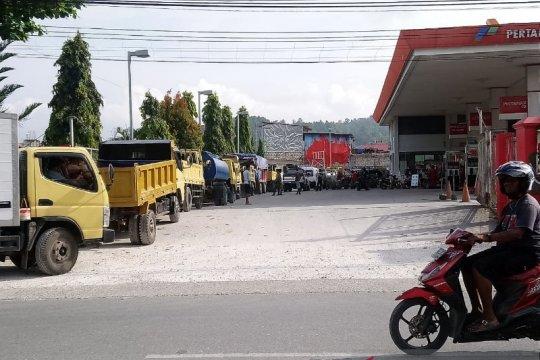 Di Jayapura kini tersedia BBM jenis dexlite
