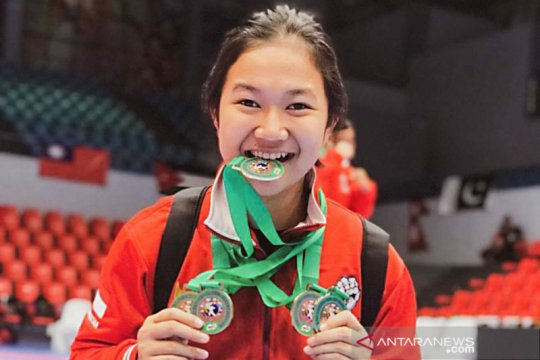 Siswi Makassar borong 5 medali di Kejuaraan Internasional Gojukai 2019