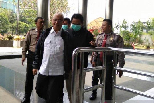 Wali Kota Medan tiba di KPK jalani pemeriksaan
