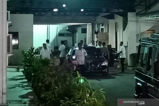 Presiden Jokowi kembali besuk Wiranto di RSPAD Gatot Soebroto