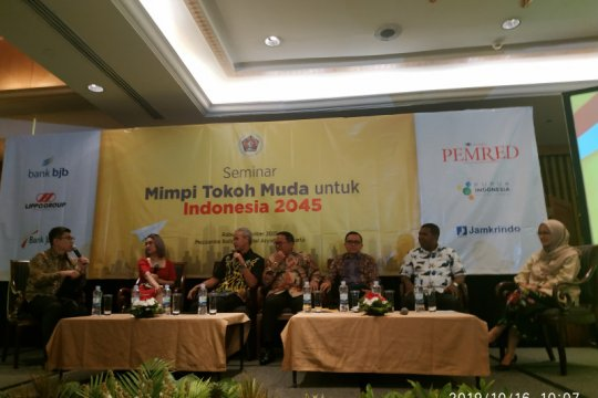 Mimpi Tokoh Muda, PWI: Pers mengambil peran untuk Indonesia 2045