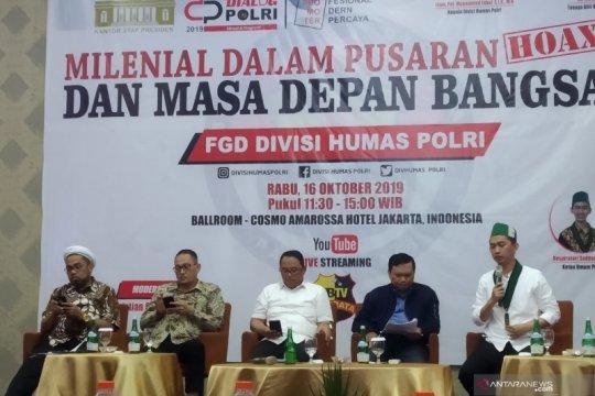 Polri minta dukungan berbagai pihak atasi bahaya penyebaran hoaks