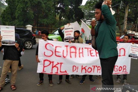 Pemkot Bogor terus tata PKL secara bertahap