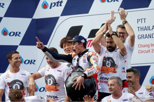 Setelah juara dunia, Marquez ingin kawinkan tiga gelar untuk Honda