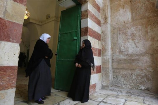 Masjid Ibrahim di Al-Khalil ditutup buat umat Muslim