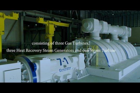 Toshiba pasok turbin untuk PLTP Dieng