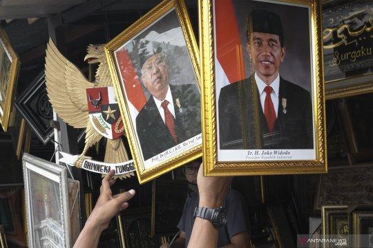 Penjualan foto presiden dan wapres terpilih