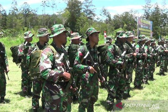 TNI mengerahkan 200 personel untuk operasi teritorial di Jayawijaya