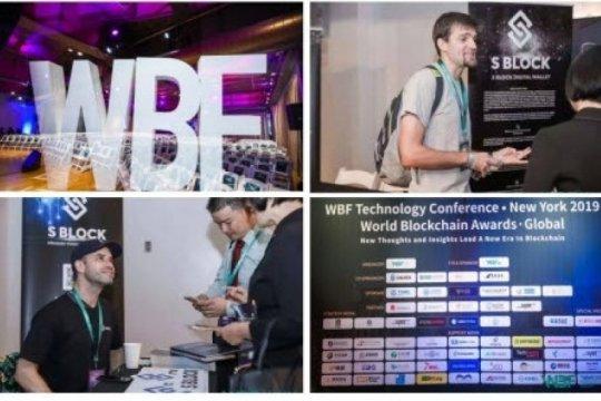 S BLOCK turut selenggarakan WBF NYC 2019 Tech Conference, luncurkan ekosistem blockchain super DAO