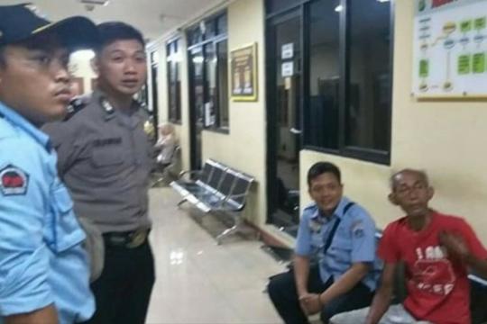 Polisi: pelaku pemilik tas di depan gereja diduga gangguan jiwa