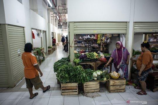 Kios baru pedagang Pasar Rumput