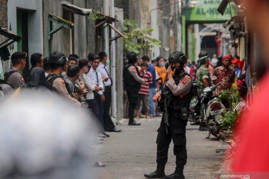 Polisi geledah rumah terduga teroris di Sukoharjo