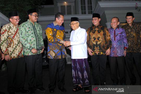 Pimpinan DPR bertemu Maruf Amin