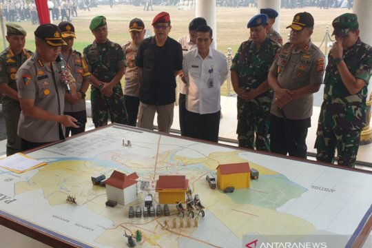 Polda Sumsel siapkan penghalau massa di perbatasan Palembang