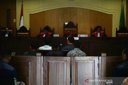 Jaksa KPK hadirkan 5 petugas Inteldakim Mataram dalam sidang suap