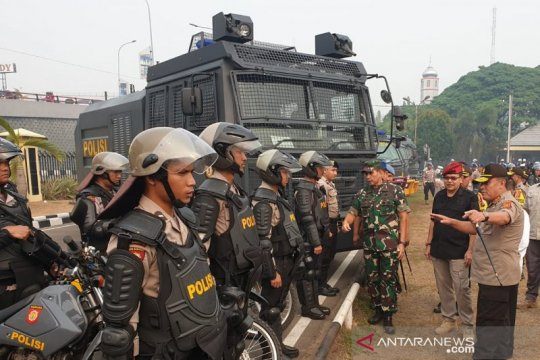 884 petugas di Sumatera Selatan disiapkan jaga pelantikan presiden