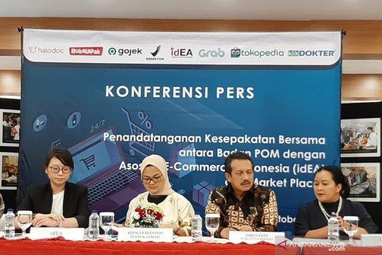 BPOM akan wajibkan lapak daring seleksi produk yang akan dijual