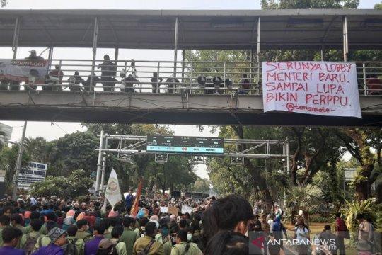 BEM SI akhiri aksi damai dengan Sumpah Mahasiswa Indonesia