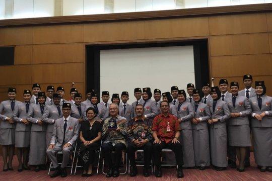 Kapal Pemuda Asia Tenggara, Indonesia kirim 28 anak muda ke Jepang