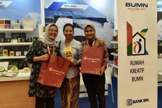 Dorong UMKM binaan, BRI bangun Indonesia Mall di ajang TEI 2019