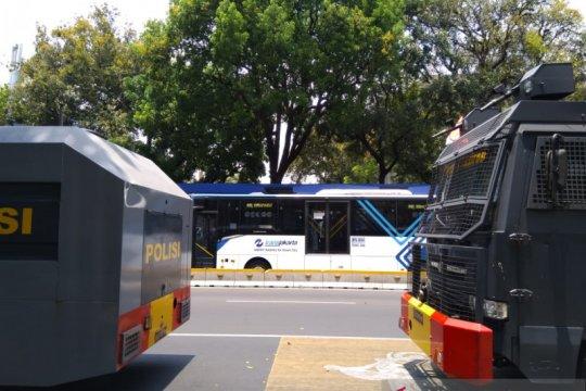 Demo mahasiswa, TransJakarta hindari Stasiun Palmerah