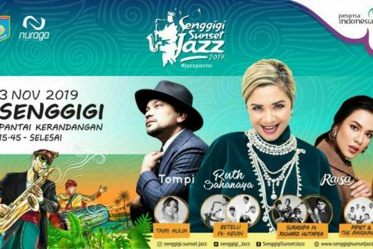 Raisa hingga Ruth Sahanaya meriahkan Senggigi Sunset Jazz 2019
