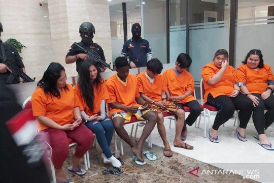 Bareskrim bekuk tujuh kurir narkoba jaringan internasional