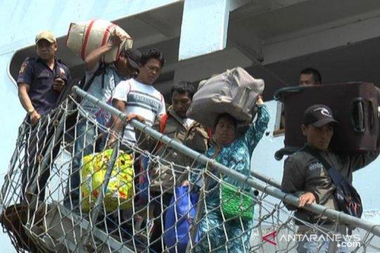 519 pengungsi Wamena tiba di Surabaya