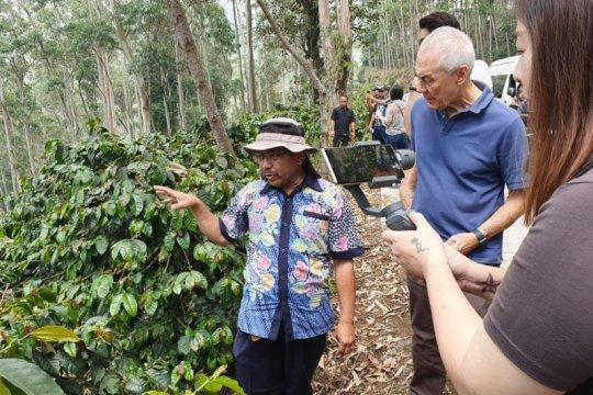 12 investor asing kunjungi kebun kopi di Pangalengan