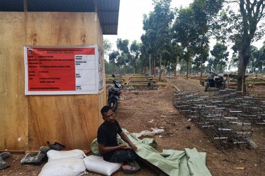TPU Pondok Ranggon intensifkan penataan taman bagi peziarah
