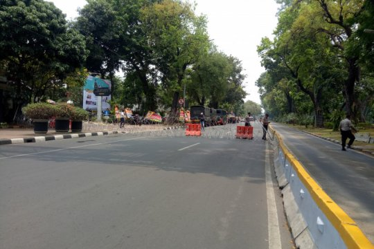 Ini rekayasa lalu lintas di sekitar Istana