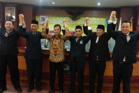 Prof. Dr Karomani terpilih jadi Rektor Universitas Lampung