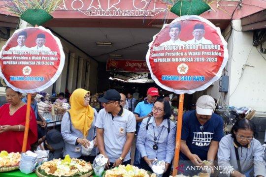 Kagama tumpengan jelang pelantikan Jokowi
