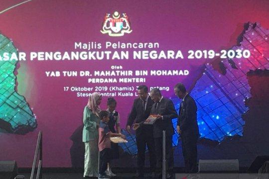 Mahathir minta Malaysia optimalkan rel seperti Jepang