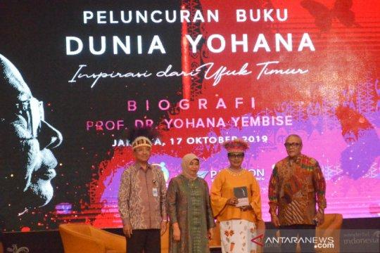 "Buku ""Dunia Yohana"" ceritakan perjalanan lima tahun Menteri Yohana"