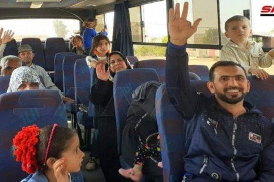Pengungsi Suriah terus pulang dari kamp Al-Azraq di Jordania