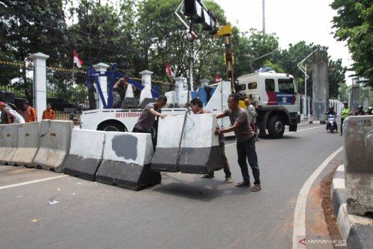 Ini pengalihan arus lalu lintas jelang pelantikan presiden