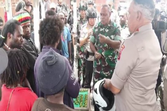 Polda Papua terus lakukan cipta kondisi terutama di Wamena sekitarnya