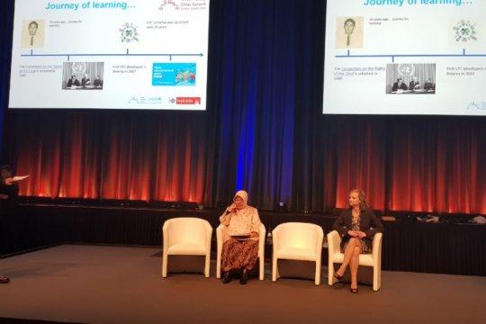 Di forum UNICEF, Wali Kota Risma sampaikan indikator Kota Layak Anak