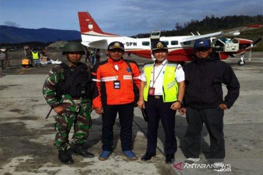 Pasca penembakan helikopter, operasional Bandara Ilaga normal