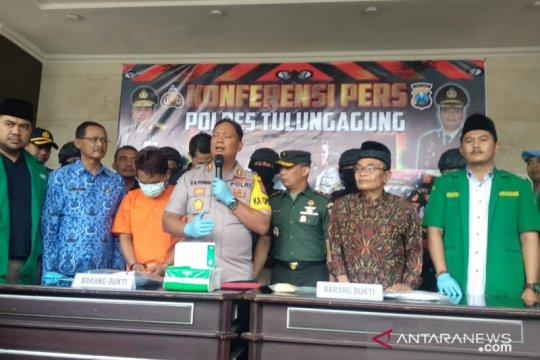 Polisi tangkap pelaku pelemparan rombongan Banser di Tulungagung