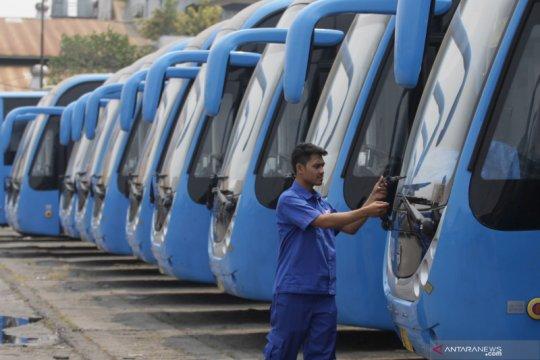 Dishub DKI nyatakan tak bisa larang penggunaan Bus Zhong Tong