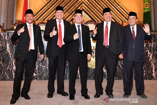 5 anggota BPK ucapkan sumpah jabatan, dihadiri Wapres Jusuf Kalla